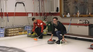 The Sport Of Curling Is Harder Than It Looks: You Look Like A Washerwoman