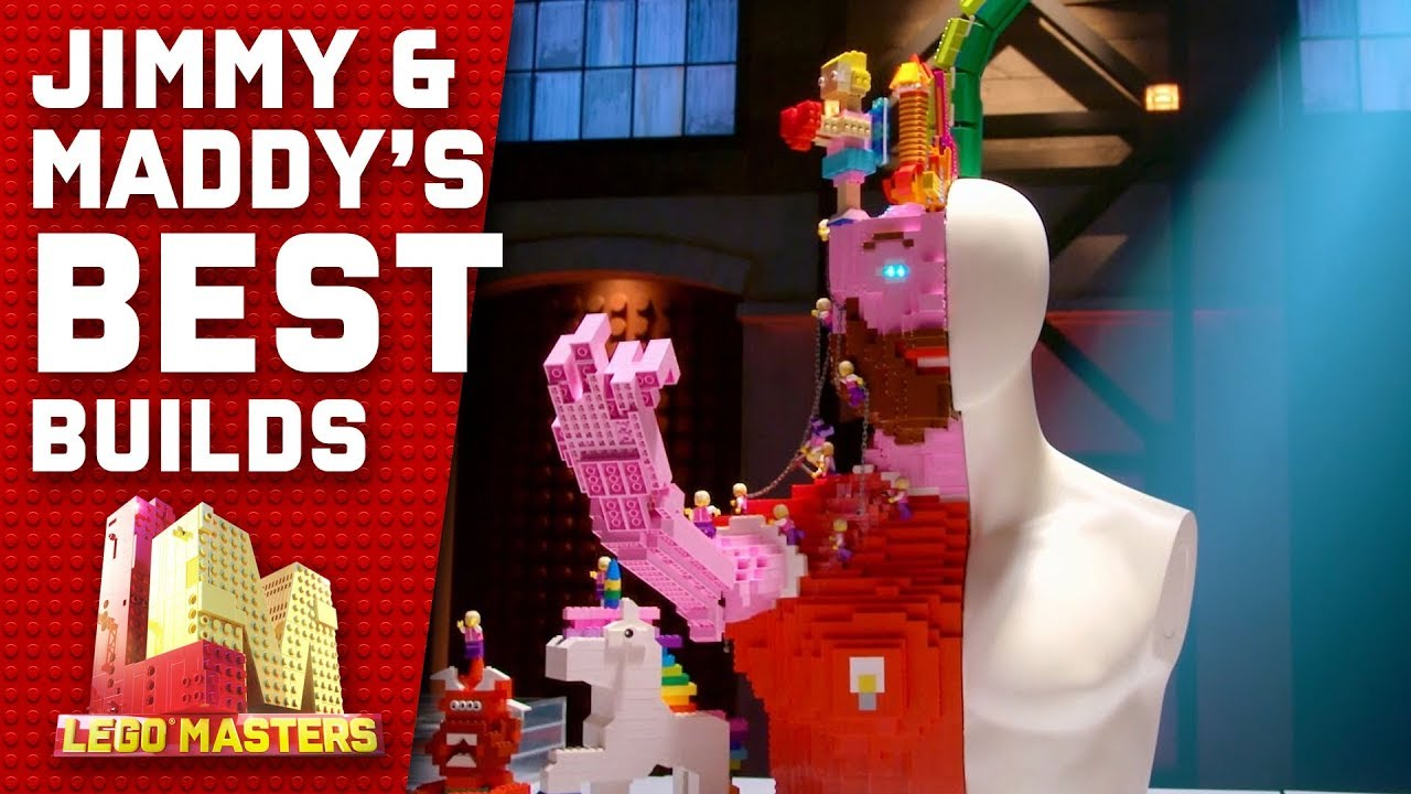 Jimmy and Maddy's best builds | LEGO Masters 2019
