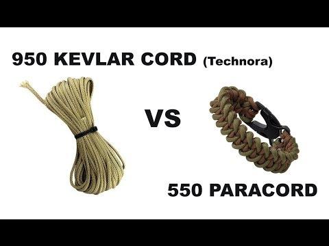 950 Kevlar Cord VS 550 Paracord | Canadian Prepper