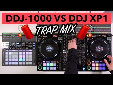 DDJ 1000 vs DDJ XP1 – Trap DJ Mix