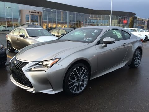 New 2015 Lexus RC 350 2dr Cpe AWD Review