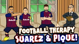 ⏱️Suarez & Pique -FOOTBALL THERAPY!⏱️ Barcelona 3-4 Real Betis +Sterling