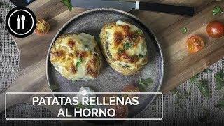 PATATAS RELLENAS al horno | Instafood