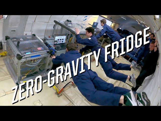 Инженеры разработали космический холодильник, способный работать вневесомости