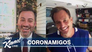 Jimmy Kimmel's Quarantine Minilogue –Formal Friday with Will Arnett & Guillermo