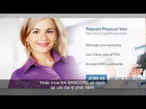 BANCORE Virtual Visa Card - mobile wallet for the unbankable