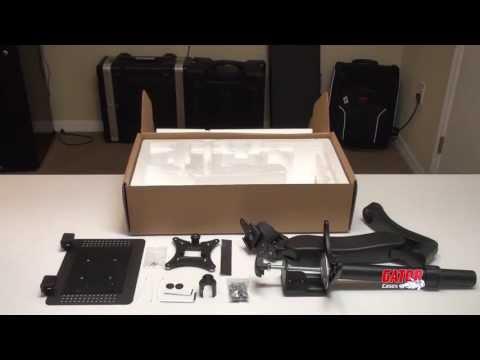 Gator Cases Arm 360 Laptop/Tablet DJ Desk Mount Assembly | Full Compass