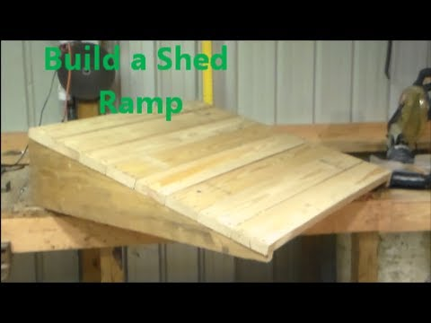 Build Small Wood Ramp Plans Diy Old Woodworking Tools