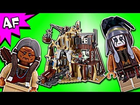 Vidéo LEGO The Lone Ranger 79110 : L'attaque de la mine d'argent