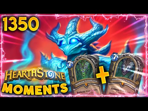 DOUBLE GALAKROND Literally Broke The Game! | Hearthstone Daily Moments Ep.1350