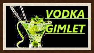 How To Make A Vodka Gimlet 🍸Vodka Gimlet Must See🍹.