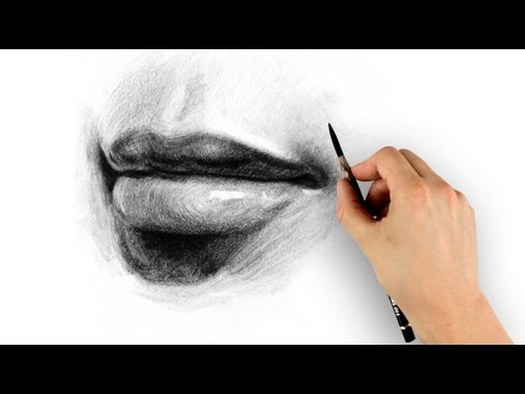 how to draw lips drawing tutorial