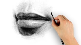 How To Draw Lips - Step By Step