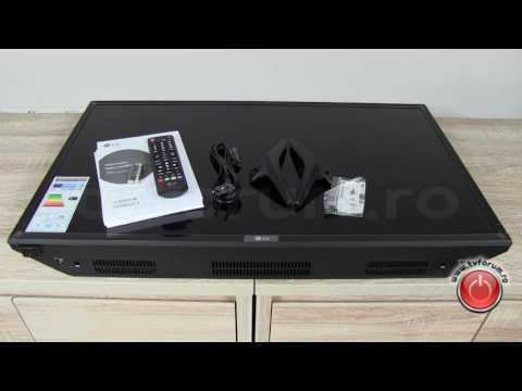 LG 32LJ500U 32LJ500V Unboxing Unpacking Review