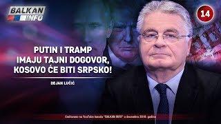 INTERVJU: Dejan Lučić - Tramp i Putin imaju tajni dogovor, Kosovo će biti deo Srbije! (8.12.2019)