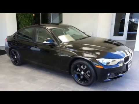 New BMW 328I with Black factory wheels