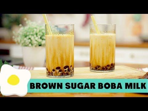 Resep Brown Sugar Boba Milk