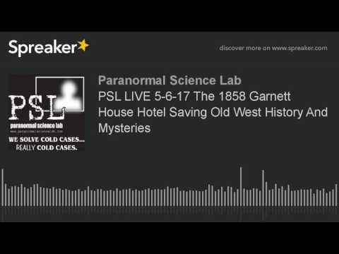 Interview with Rob Garcia by PSL about the Garnett House.