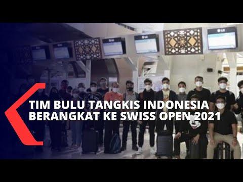 PBSI Berangkatkan Tim Bulu Tangkis Indonesia ke Swiss Open 2021
