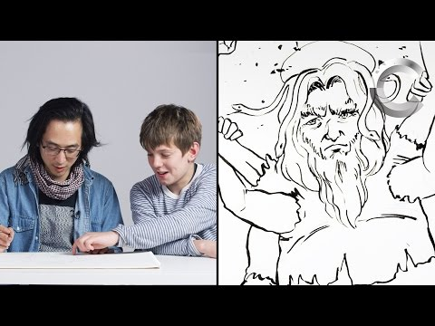 Talbott Describes God to an Illustrator