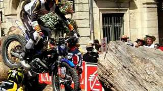 preview picture of video 'Trial urbain Cahors 2010'