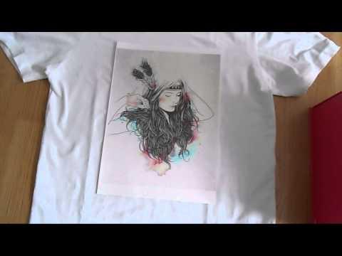 TEST : Le papier transfert action + DIY T-shirt