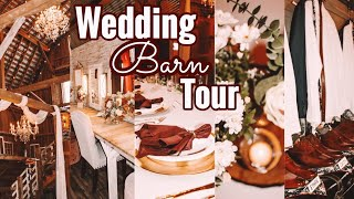 Our Wedding Barn Tour & Decorating♥️