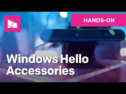 Windows Hello USB camera & fingerprint reader by MouseComputer