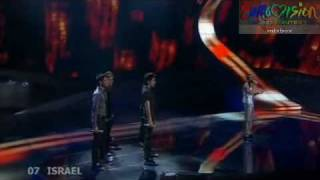 Boaz Mauda - The Fire In Your Eyes - ISRAEL - ESC 2008