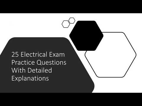 25 NEC Practice Test Questions with full explanations - YouTube