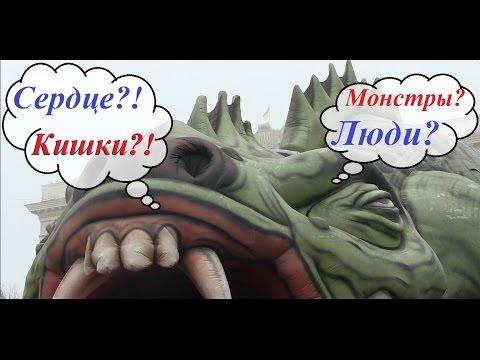 В Харькове показали внутренности дракона