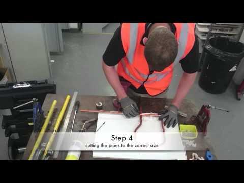 Level 1 plumbing - training task C5 - YouTube