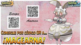 Consigue A... ¡MAGEARNA! - QR Code - Pokémon Ultrasol Y Ultraluna
