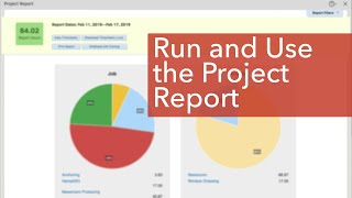 Run & Use the Project Report