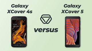 Samsung Galaxy XCover 4s vs Galaxy XCover 5 - Vergleich der wichtigsten Unterschiede auf deutsch