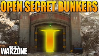 How to Open The Secret Bunkers In Warzone (Bunker 11)