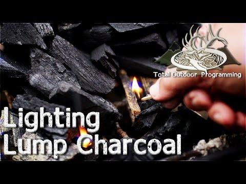 How to light lump charcoal – Keep on Grillin' – Cooking on the Grill Tips and How To's Episode #7
