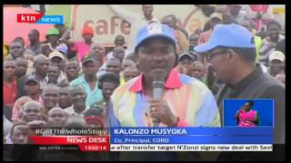 Wiper Leader-Kalonzo Musyoka takes on Jubilee head-on in his tour of Narok County