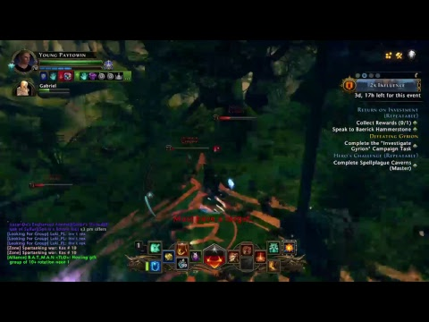 Neverwinter - Paladin Healing on CASTLE NEVER with RANDOMS