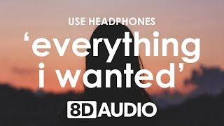 Billie Eilish   Everything I Wanted (8D AUDIO) 🎧