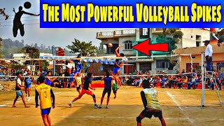 The Most Powerful Volleyball Spikes jassi volleyball match volleyball training volleyball skills