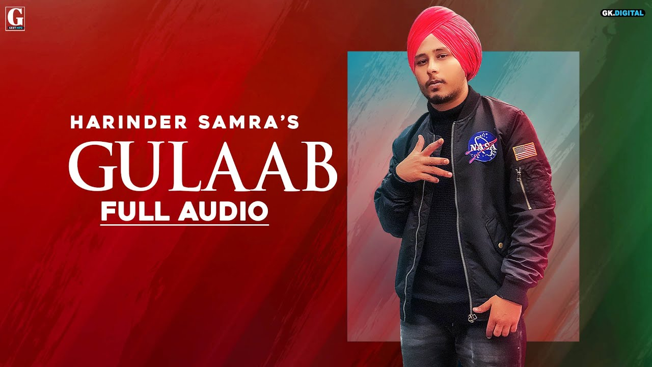 Gulaab Lyrics in English- Harinder Samra