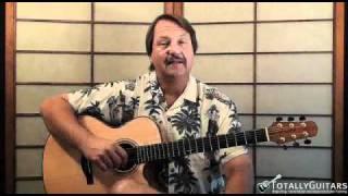 Margaritaville Acoustic Guitar Lesson - Jimmy Buffett