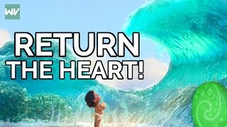 Moana Theory: Why Didn't The Ocean Return The Heart | Discovering Disney