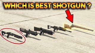 GTA 5 ONLINE : WHICH IS BEST SHOTGUN? (PUMP SHOTGUN, MUSKET, HEAVY SHOTGUN etc.)