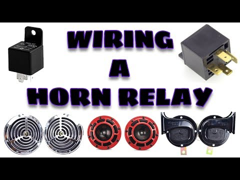 How to Wire a 12V Horn Relay | Easy and Simplest