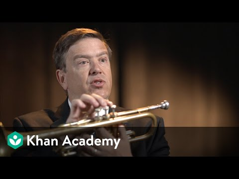 Trumpet: Interview and demonstration with principal David Bilger