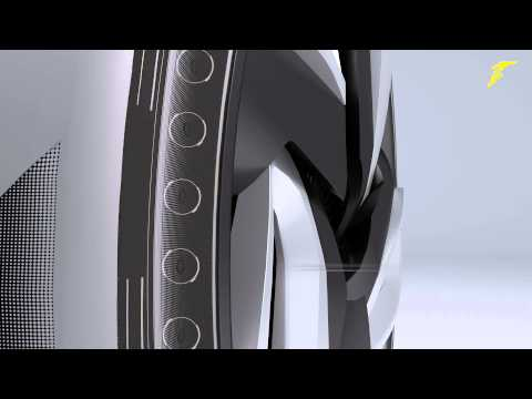 Goodyear's Concept Tires Harvest Heat To Power Your Car