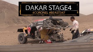 The beast is flying! Stage 4 progress for Coronel in the Jefferies buggy Dakar 2018