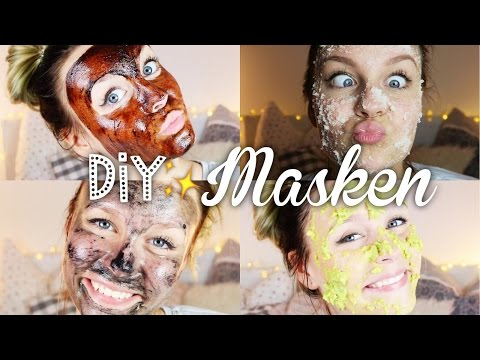 4 easy DIY GesichtsMASKEN ♡| Dagi Bee